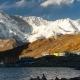 View To Gokyo, Lake Dudh Pokhari, Peak Gokyo Ri, Mount Cho Oyu. Himalayas. - VideoHive Item for Sale