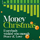 Minimal Money Christmas Flyer - GraphicRiver Item for Sale