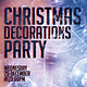 Christmas Decorations Party Flyer Template - GraphicRiver Item for Sale