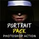 Portrait Pack Photoshop Action