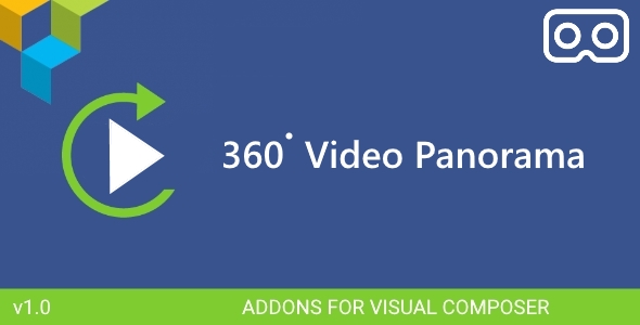 360 Panorama Video - Visual Composer Addon - CodeCanyon Item for Sale