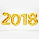 New Year 2018 Balloons - VideoHive Item for Sale