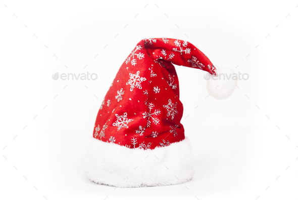 Santa`s hat - Stock Photo - Images