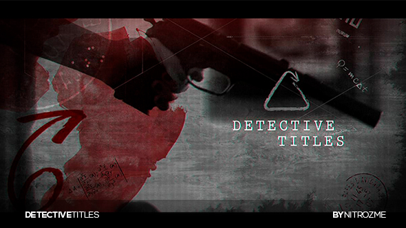 VideoHive Detective Titles 21090662