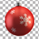 Christmas Ball Transition - VideoHive Item for Sale