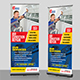 Air Conditioner Repair Service Roll-Up Banner