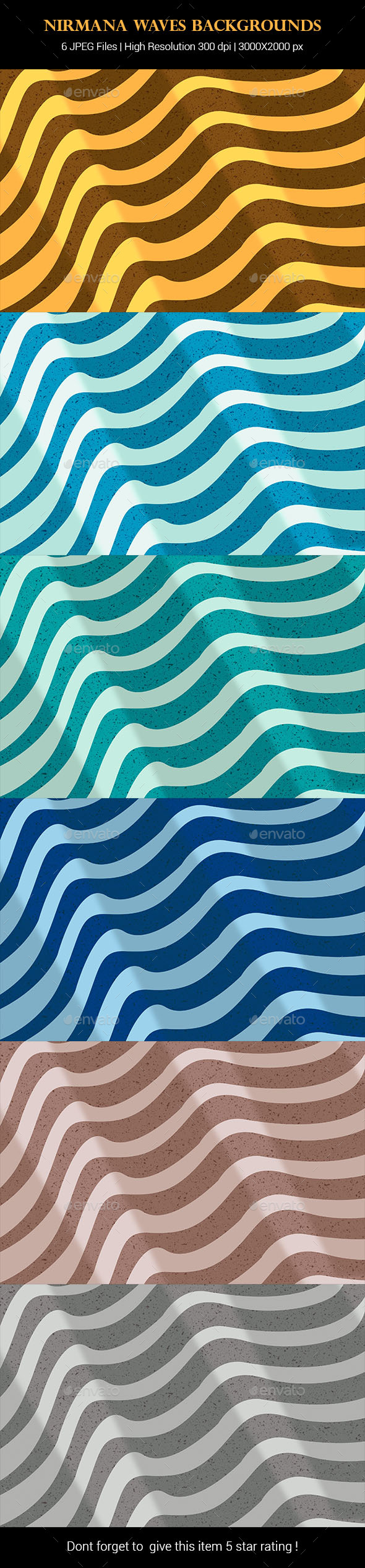 GraphicRiver Nirmana Waves Backgrounds 21091044