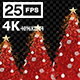 Christmas Tree Magic 01 4K - VideoHive Item for Sale