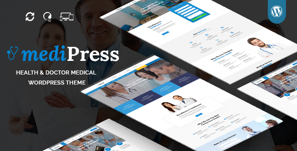 mediPress - Medical and Health Responsive WordPress Theme - Health and Beauty Retail