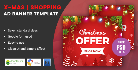 X-mas | Shopping HTML 5 Animated Google Banner - CodeCanyon Item for Sale
