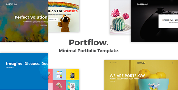 Download Portflow - Minimal Portfolio Template            nulled nulled version