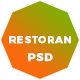 Restoran Hotel and Restaurant  PSD Template