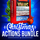 Christmas 5in1 Photoshop Actions Bundle - GraphicRiver Item for Sale