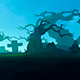 Animation On The Topic Of Halloween - VideoHive Item for Sale