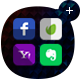 Ultimate Flat Social Icon Pack - GraphicRiver Item for Sale