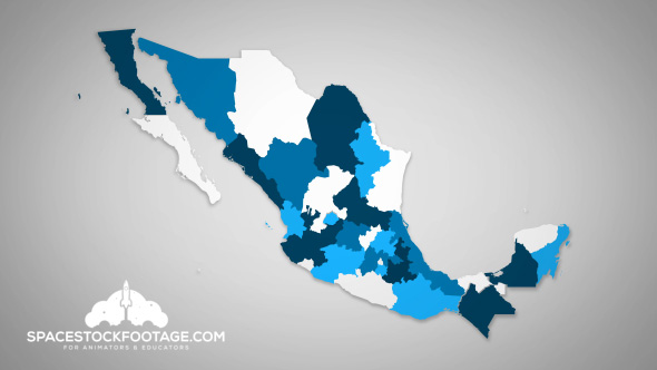 Mexico States Combine B By Spacestockfootage2 Videohive