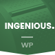 Ingenious - Smart Home Automation WordPress Theme