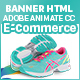 Shoes – E-Commerce HTML5 Banners - 7size (Animate CC)