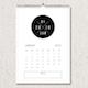 Minimal Retro Calendar 2018 - GraphicRiver Item for Sale
