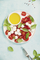 Caprese salad with basil and mozzarella balls - PhotoDune Item for Sale