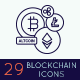 Bitcoin, Cryptocurrency & Blockchain Icons - GraphicRiver Item for Sale