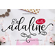 Adaline Script - GraphicRiver Item for Sale