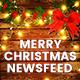 Merry Christmas NewsFeed - 24PSD