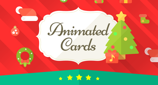 Animated Cards
