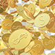 Dollars Gold Coins - VideoHive Item for Sale