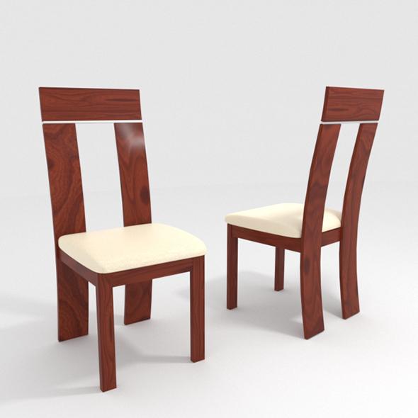chair DARK WALNUT - 3DOcean Item for Sale