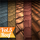 Roof Tile Vol.5 - Hand Painted Texture Pack - 3DOcean Item for Sale