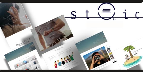 Stoic | Multipurpose Responsive WordPress Theme - Corporate WordPress