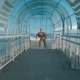 Fast Man Running Through the Tunnel - VideoHive Item for Sale
