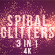 Spiral Glitters - VideoHive Item for Sale
