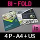 Architectural Design Bi-Fold Brochure Template - GraphicRiver Item for Sale