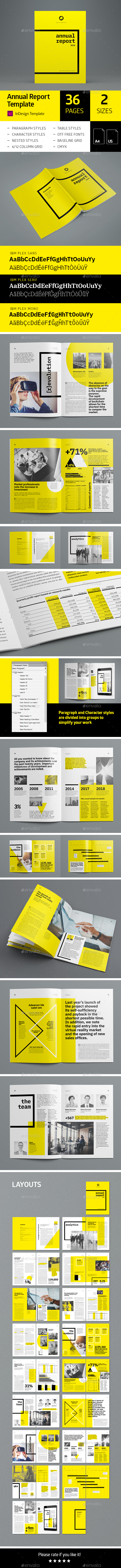 Annual Report 36 pages - Corporate Brochures