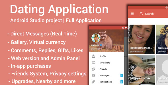 Dating App - CodeCanyon Item for Sale