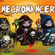 Necromancer 2D Game Character Sprite Sheet - GraphicRiver Item for Sale