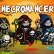 Necromancer 2D Game Character Sprite Sheet