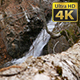 High Waterfall in Rock - VideoHive Item for Sale