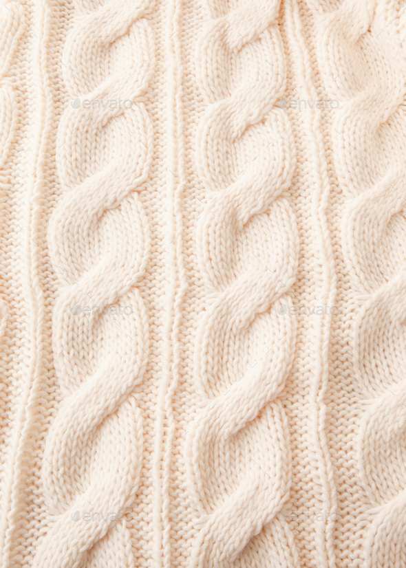 Knitted texture background - Stock Photo - Images