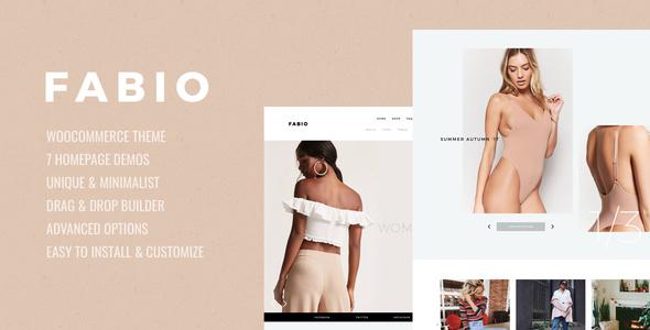 Image of Fabio WooCommerce Shopping Theme