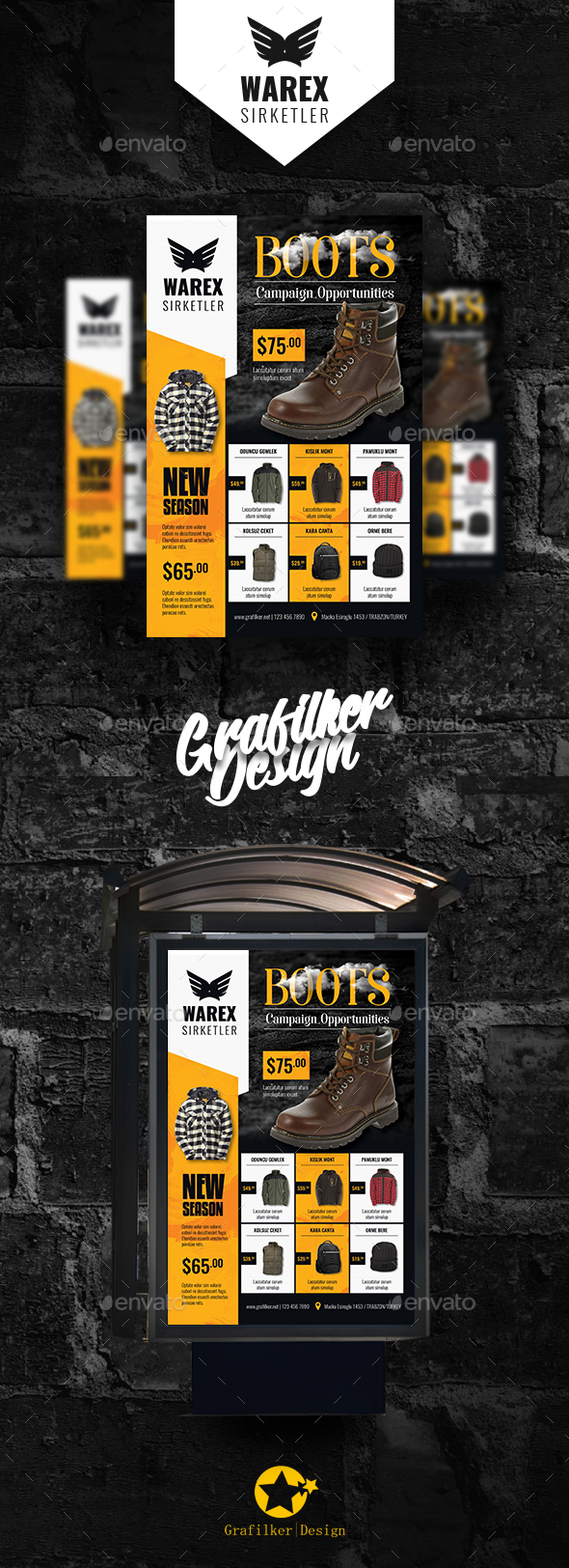 GraphicRiver Shopping Product Poster Templates 21093255