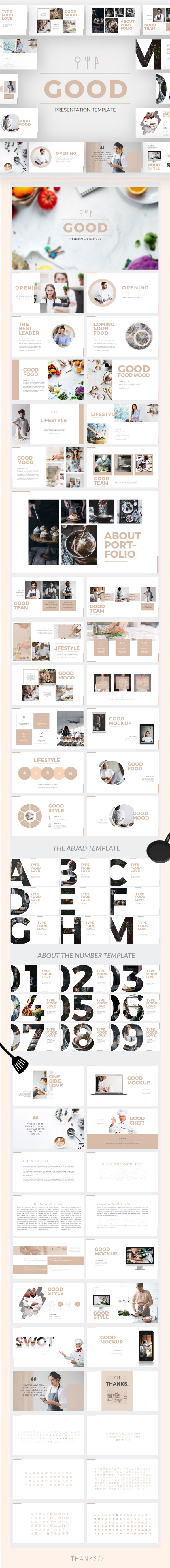 Good - Keynote Presentation Template - Keynote Templates Presentation Templates