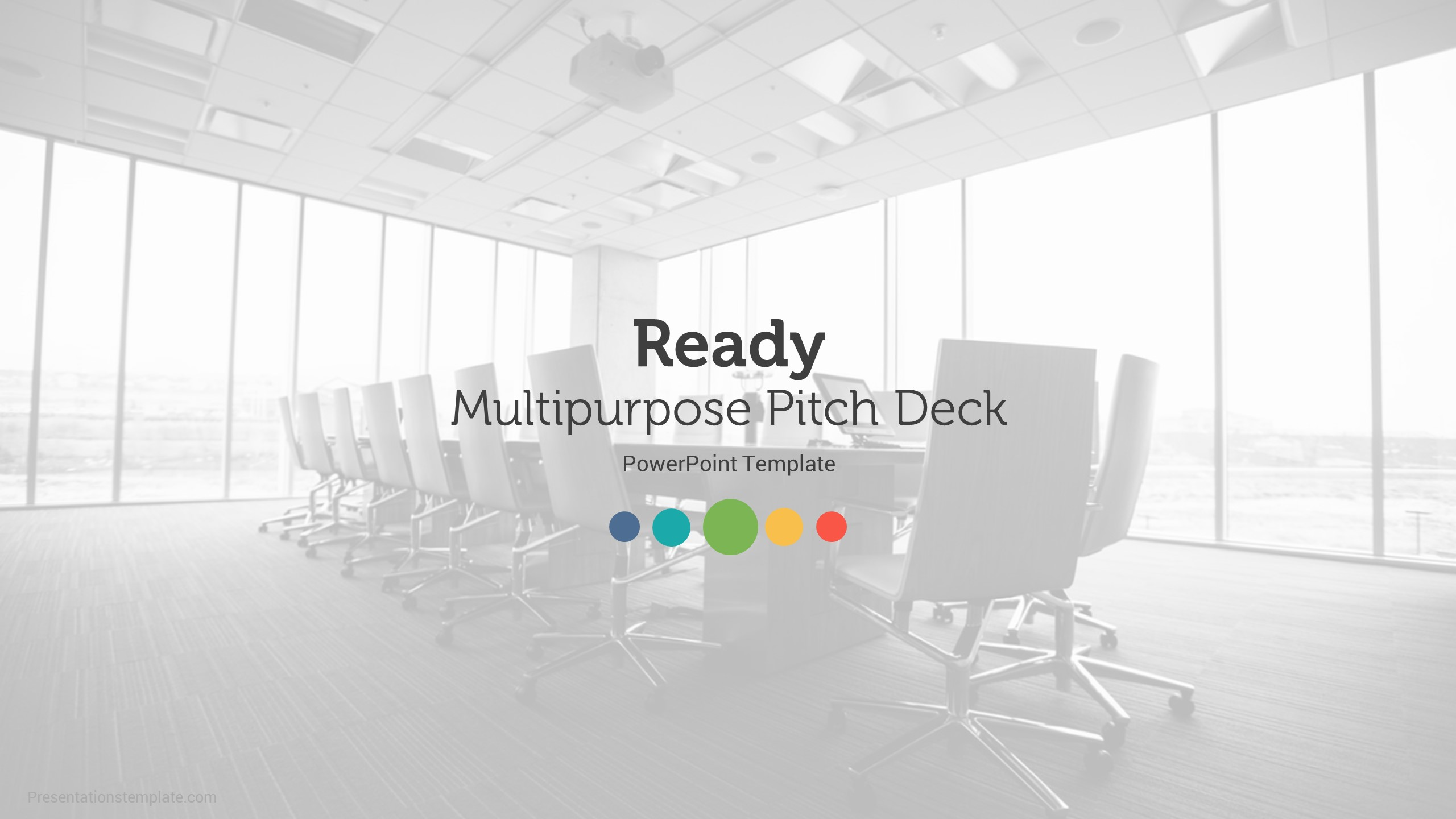 Ready | Pitch Deck Multipurpose Powerpoint Template