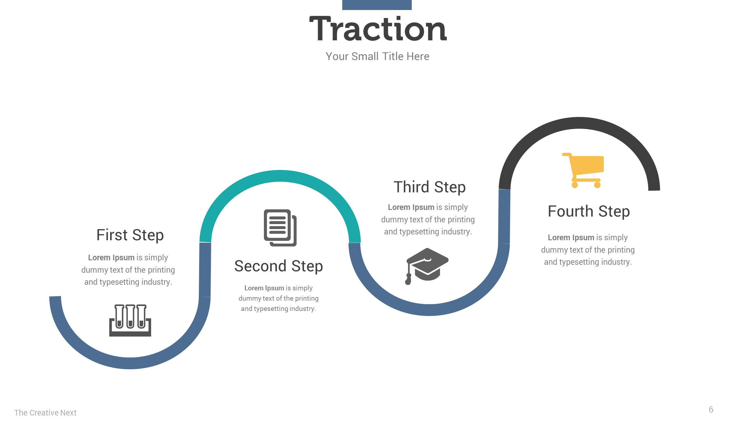 Image result for traction slide pitch deck