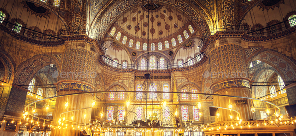 Blue Mosque Sultan Ahmet Cami - Stock Photo - Images
