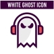 White Ghost Icon Set