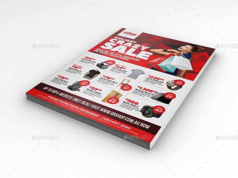sales flyer design