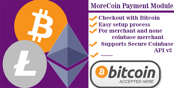 Bitcoin, Ethereum, Litecoin payment prestashop module - CodeCanyon Item for Sale